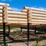Ростверк для свайного фундамента загородного дома