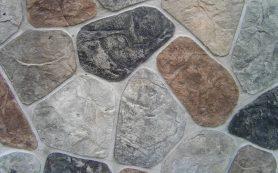Имитация штукатурки под камень