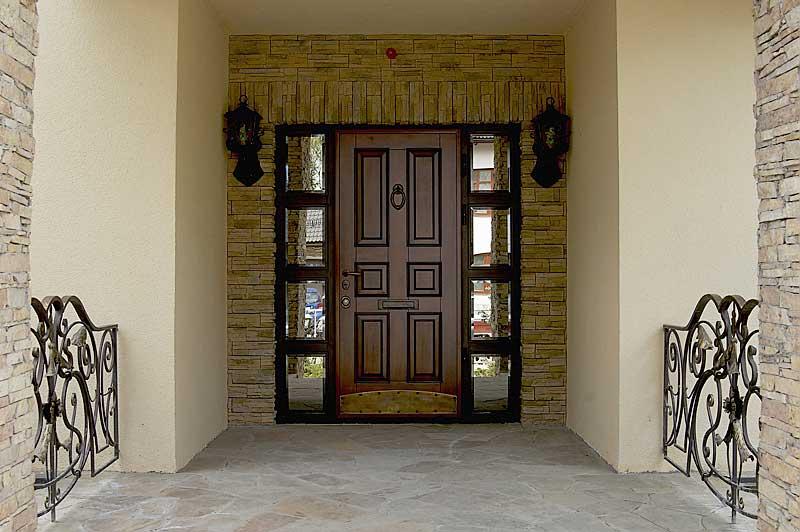 Стальные входные двери. Варианты облицовки