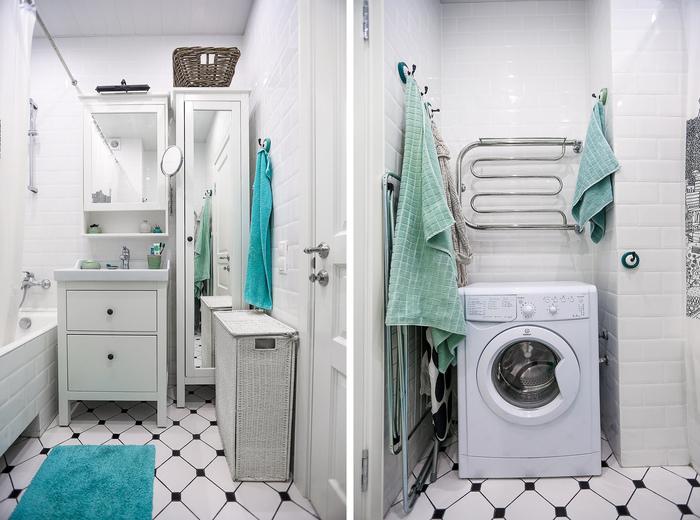 Где установить стиральную машинку: 5 идей