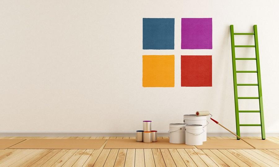 Как красиво покрасить стены через трафарет?