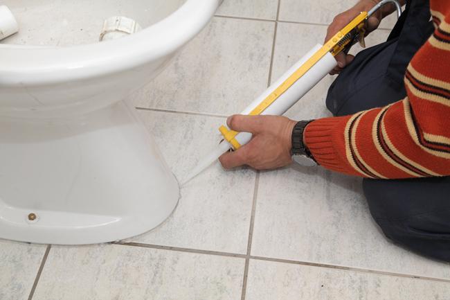 Этапы ремонта туалета