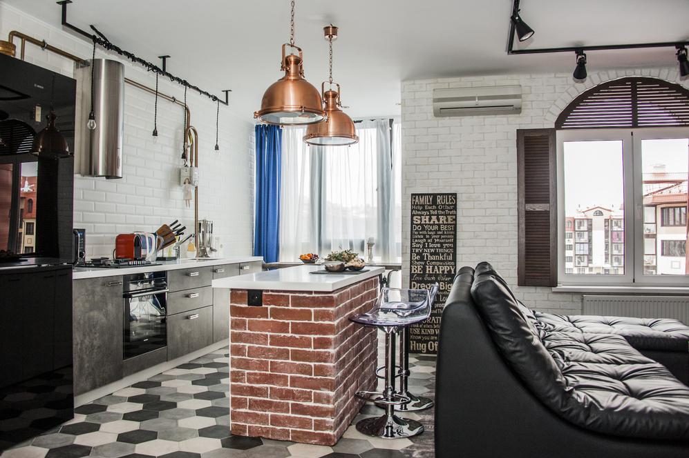 Как оформить линейную кухню: 7 идей от профи