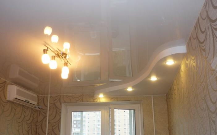 Натяжные потолки – идеальный вариант для отделки помещений