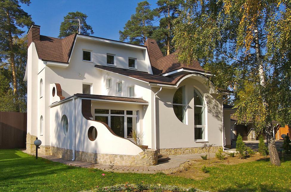 Облик дома в стиле модерн