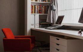Как оборудовать рабочее место в спальне?