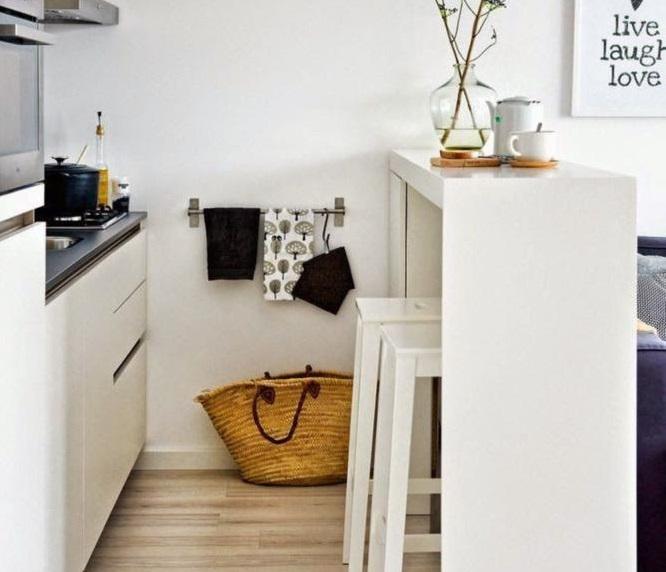 Обеденная зона в маленькой квартире: 8 полезных идей