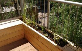 Как обустроить городской маленький балкон
