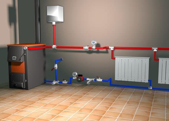 Специфика установки отопительных систем