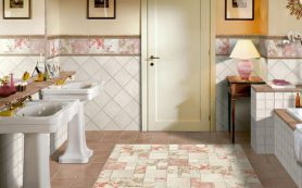 Керамическая плитка – лучший материал для отделки ванной