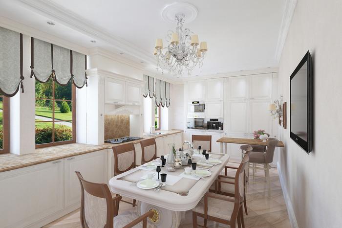 Белая кухня: плюсы, минусы, уход