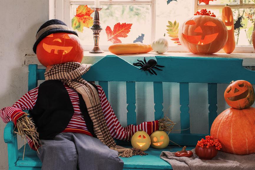 Хэллоуин: как быстро и правильно украсить дом?