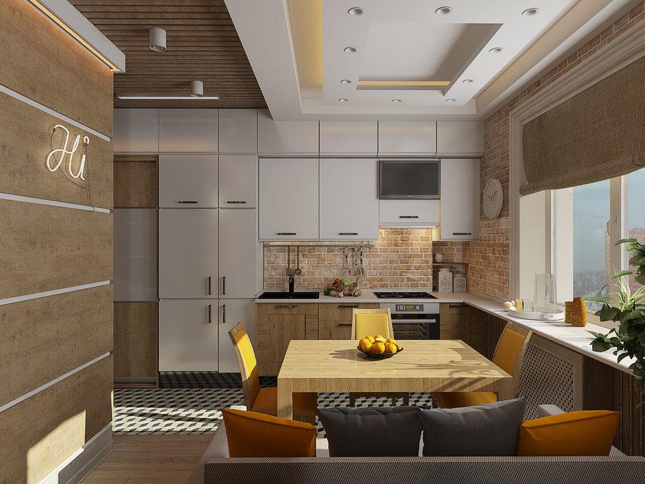 Как законно объединить кухню с гостиной