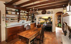 Деревенская простота в современной кухне