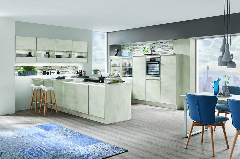 Модные тенденции в дизайне кухонь