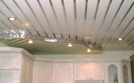 Пластиковый потолок в ванной комнате: установка своими руками