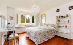 Как грамотно использовать картины для декорирования спальни