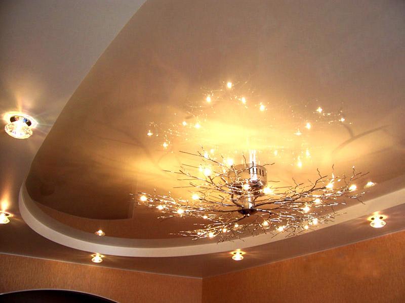 Акустические натяжные потолки: преимущества и недостатки