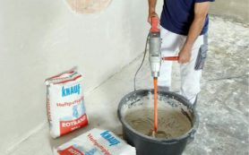 Финишная шпаклевка стен под обои или покраску