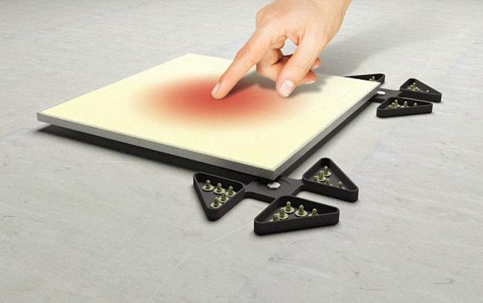 Кафельная плитка сможет мгновенно менять свой цвет по желанию хозяина