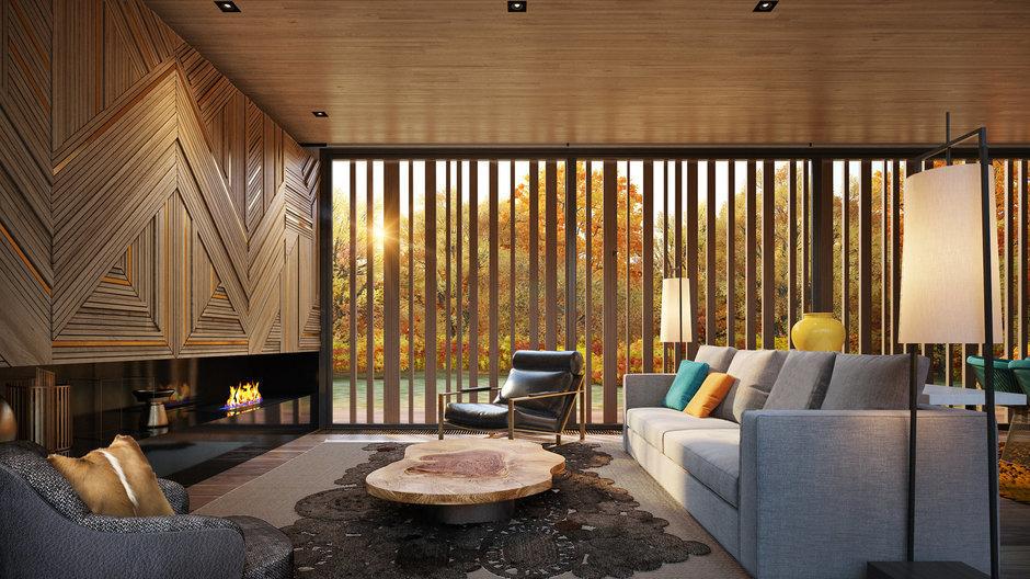 Как цвет влияет на атмосферу в доме