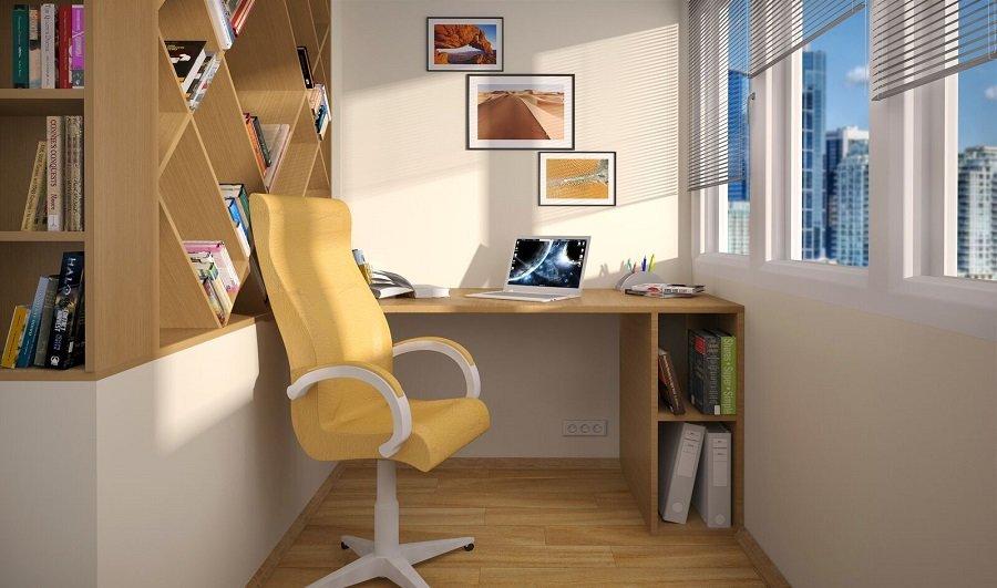 Как организовать кабинет в маленькой квартире: 5 идей