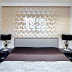 Писк моды: красивая декоративная плитка в гостиной