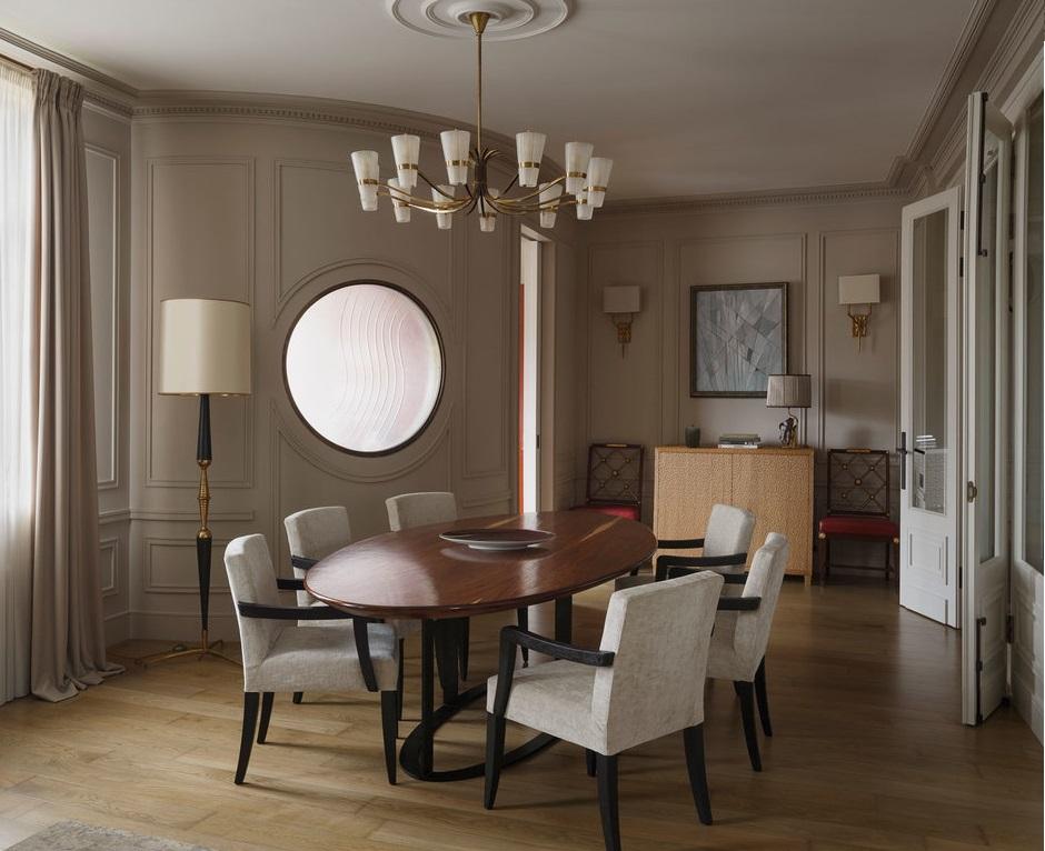 Как оформить квартиру с полукруглой кухней