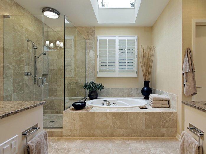 Какой материал выбрать для потолка в ванной комнате