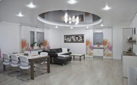Натяжной потолок — чисто, быстро и удобно
