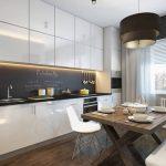 Только не плитка: 9 идей для отделки кухонного фартука