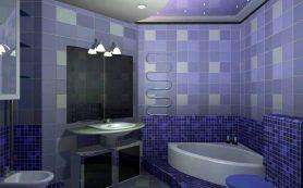 Особенности выбора плитки для ванной комнаты