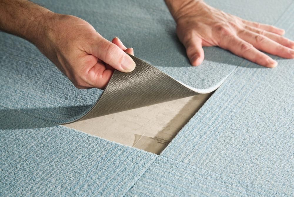 Ковровая плитка — это экологично, дешево и красиво
