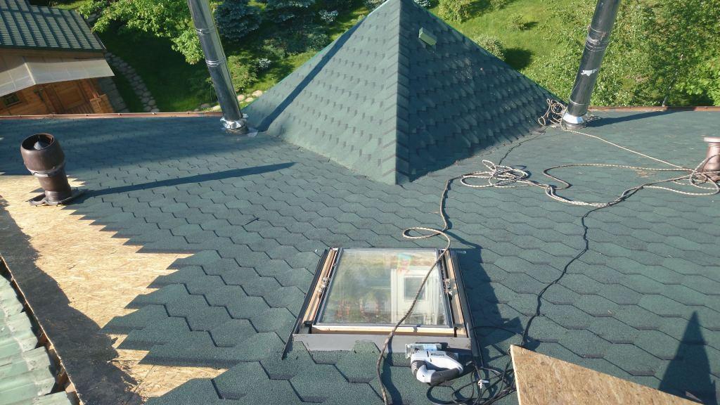 Ремонтируем крышу в загородном доме