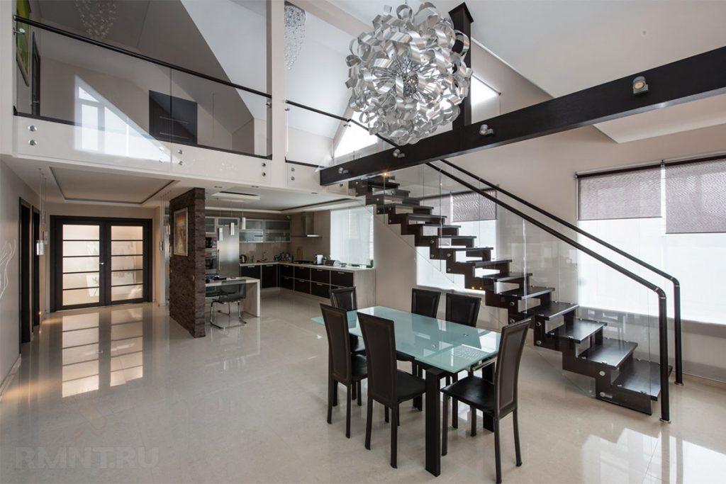Металлические лестницы для частного дома и дачи