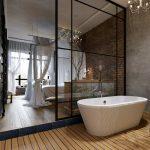Перегородки из стекла в квартире: 5 примеров
