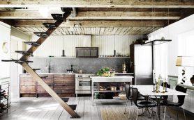 Дачный домик в Дании: старые стены, современная обстановка