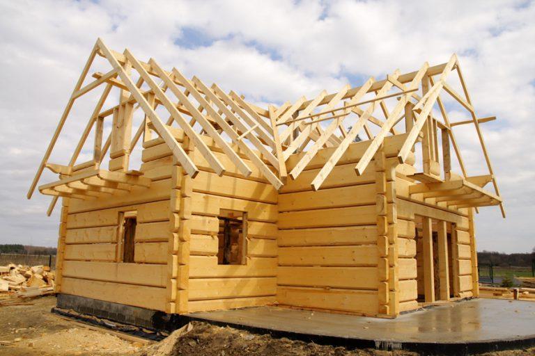 Как начать строить дом из бруса 143