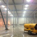 Применение тепловых пушек при ремонтно-строительных работах