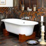 Мозаичная плитка для ванной: виды и технология монтажа