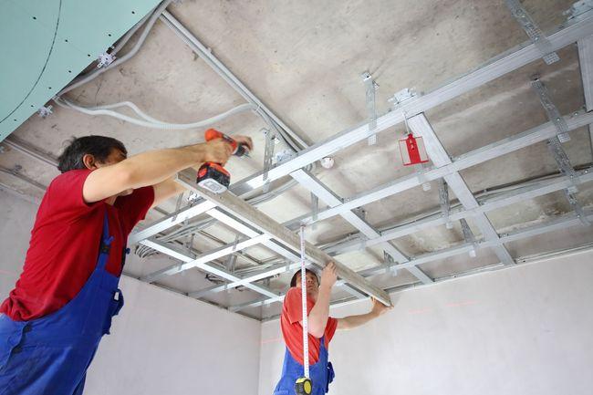 Звукоизоляция потолка: 2 основные технологии монтажа