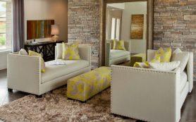 Большие зеркала — наполняем комнату светом и воздухом
