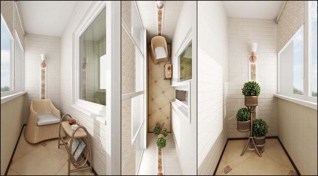 Как комфортно обустроить балкон или лоджию