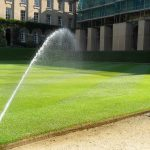 Услуги по организации автоматического полива территории компании «Виденфлора»