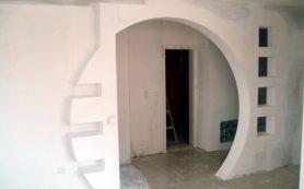 Строительство и возведение арочного проёма