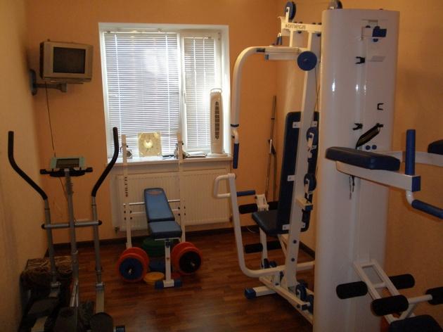 Обустройство спортивного зала в домашних условиях