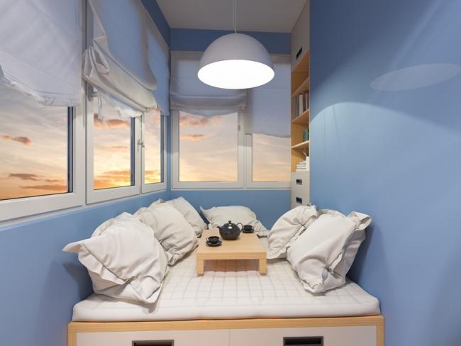 Потолок на балконе: выбираем подходящий материал