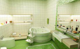 Отделка ванной комнаты: Керамическая плитка
