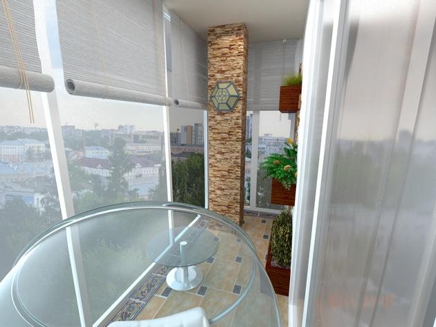 Обустройство балкона для максимального комфорта