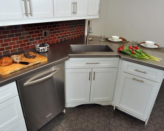 Угловая кухня — особенности дизайна